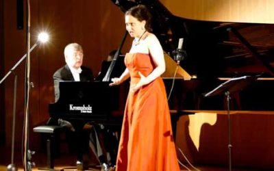 Enregistrement à Fribourg d'un programme de chansons françaises avec piano (Debussy, Ravel, Poulenc). Magnifique !