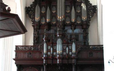 Enregistrement d'un programme de concerti baroque transcrits pour l'orgue dans le deuxième magnifique orgue de Groningen: Aa kerk avec Kei Koito